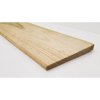 Sawn Treated Featheredge Fencing Boarding 1.8m  - Product: ...