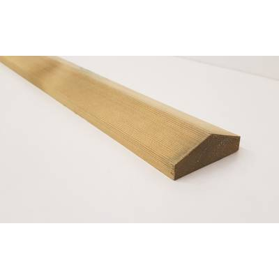 Fence panel capping 1830mm x 55mm x 20mm 6'...