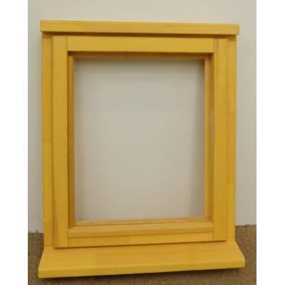 Wooden Timber Window Plain Casement Unglazed Softwood Jeldwen Jeld-wen 625x745mm - Handing (externally viewed):