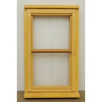Wooden Timber Window Horizontal Centre Bar Casement Unglazed Jeldwen 625x1045mm