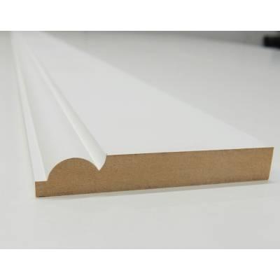 Skirting Torus MDF Board Primed Various Lengths 120x18mm - ...