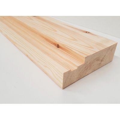 Softwood Internal Fire Check Door Casing Wooden Timber 144mm FD30