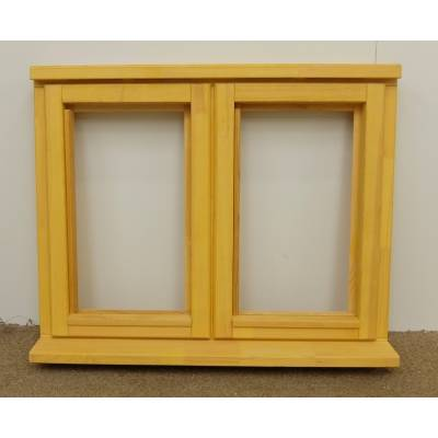 Wooden Timber Window Plain Casement Unglazed Softwood Jeldwen Jeld-wen 910x745mm
