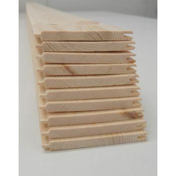 Matchboard Timber Softwood 10 Pack Internal Wainscot Cladding Wall Panelling