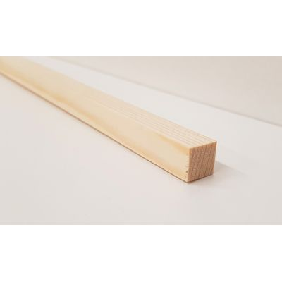 12x12mm Pine PSE Timber Decorative Moulding 2.4m Beading Woo...