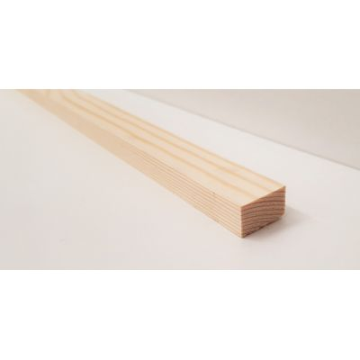 21x12mm Pine PSE Timber Decorative Moulding 2.4m Beading Woo...