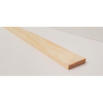 25x6mm Pine PSE Timber Decorative Moulding 2.4m Beading Wood...