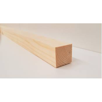 """Planed Smooth Timber Wood Softwood Pine PSE PAR Various Lengths 32x32mm 1¼x1¼"""""""