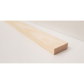 Planed Smooth Timber Wood Softwood Pine PSE PAR Clapping Strip 34x12mm