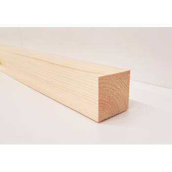 Planed Smooth Timber Wood Softwood Pine PSE PAR Various Lengths 44x44mm 2x2""
