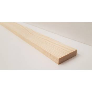 Planed Smooth Timber Wood Softwood Pine PSE PAR 2.4m 44x12mm 2x½""