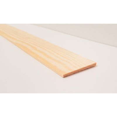 46x4mm Pine PSE Timber Decorative Moulding 2.4m Beading Wood...