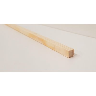 8x8mm Pine PSE Timber Decorative Moulding 2.4m Beading Woode...