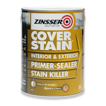Stain Killer Cover Primer Sealer Interior Exterior All Purpose White Tintable