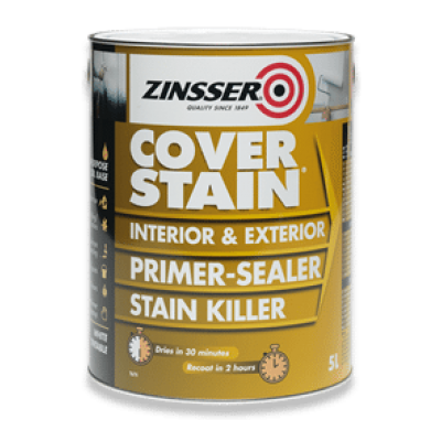 Stain Killer Cover Primer Sealer Interior Exterior All Purpo...