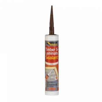 Timber Laminate Sealant Pine Gap Filler 290ml Flooring Adhesive Everbuild