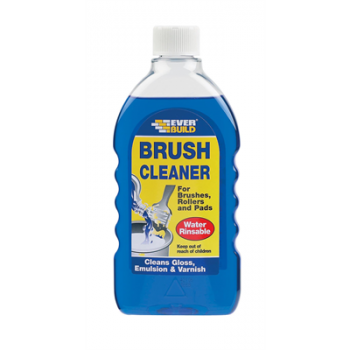Brush Cleaner Wash Clean Quick Oil Water Washable Paint Decorating Roller 500ml