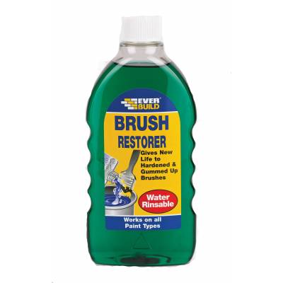 Brush Restorer Solvent Based Cleaner Water Washable Paint De...