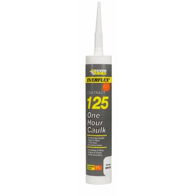Decorator Filler One Hour Caulk Seal Fill Flexible Fast Dryi...