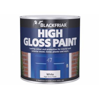 High Gloss Paint Hardwearing Interior Exterior Wood Metal Pl...