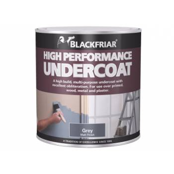High Performance Undercoat Foundation Interior Exterior Wood Metal Plaster White