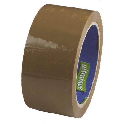 Parcel Tape Packing Brown Sealing Strong Buff Packaging Box ...