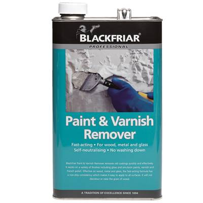 Paint Varnish Remover Wood Metal Glass Self Neutralising Pro...