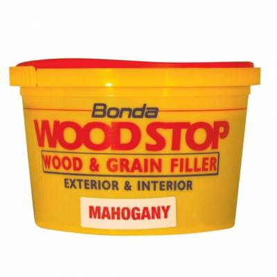 Wood Grain Filler Exterior Interior Bonda Woodstop Hardwood ...
