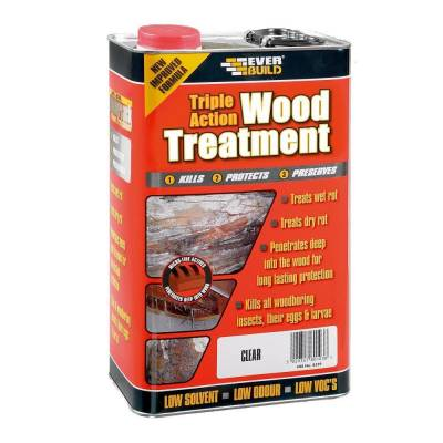 Wood Treatment Triple Action Preserve Preservation Wood Join...