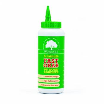 Fast Grab 5 Minutes Strong Glue Wood Internal External Waterproof PU 500ml or 1L
