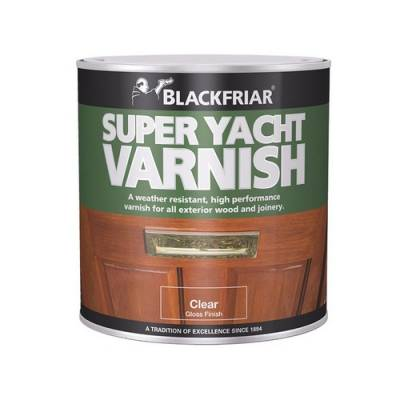 Super Yacht Varnish Exterior Tough Durable Solvent Buildings...