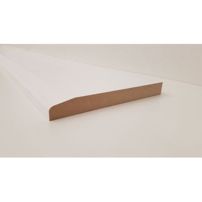Skirting Chamfer MDF Board Primed Various Lengths 167x18mm  ...
