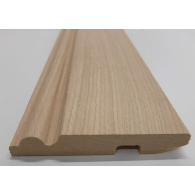 Skirting Torus Chamfered Rounded White Oak American Veneered...