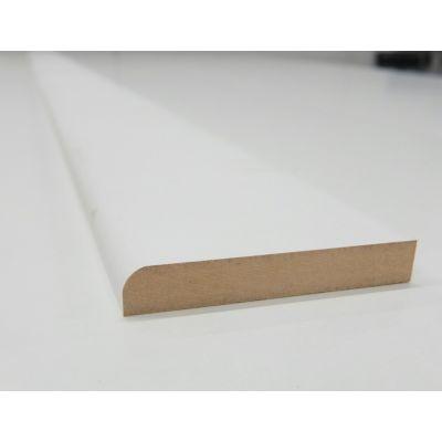 Skirting Board MDF Bullnose Primed Various Lengths 94x16mm 4...