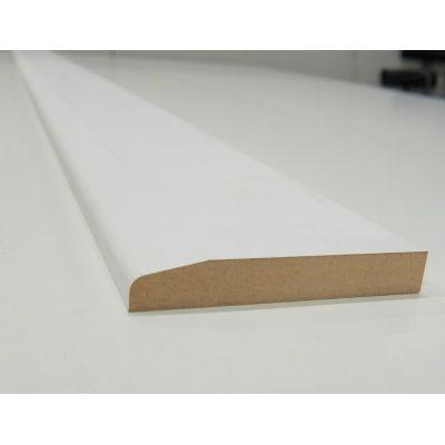 Skirting Chamfer MDF Board Primed Various Lengths 120x18mm  ...