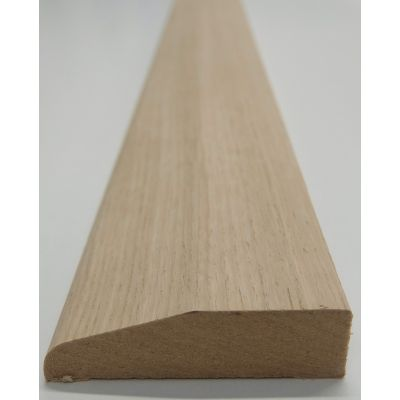 Architrave Chamfer Rounded White Oak American Veneered MDF C...