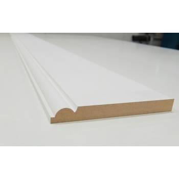 Skirting Torus MDF Board Primed Various Lengths 167x18mm