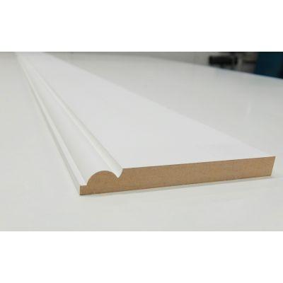 Skirting Torus MDF Board Primed Various Lengths 167x18mm  - ...