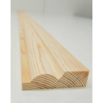 Architrave Torus Timber Wood Softwood Pine Trim Decorative 69x20mm 3""