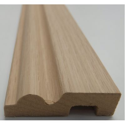 Architrave Torus Rounded MDF White Oak American Veneered Cha...