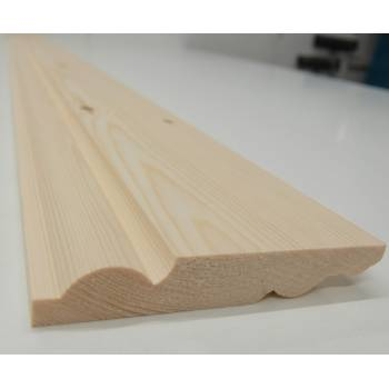 """Skirting Timber Torus Ogee Wood Dual Sided Softwood Pine 120x20mm 5"""""""