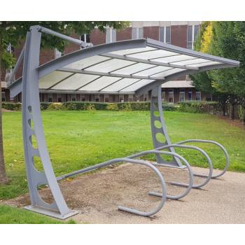 Bi-Port Cycle Shelter