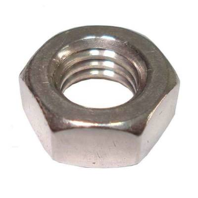 Hex Nut Full Hexagonal Zinc Plated Imperial Pack 10 Options ...