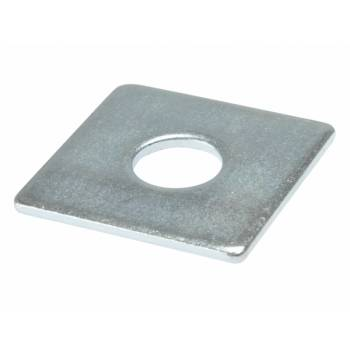Square Plate Washers Heavy Duty Zinc Plated Thick Pack of 10 M50