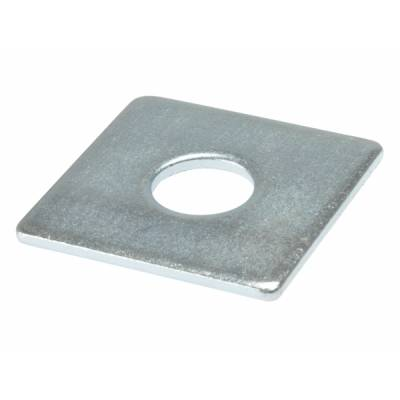 Square Plate Washers Heavy Duty Zinc Plated Thick Pack of 10...