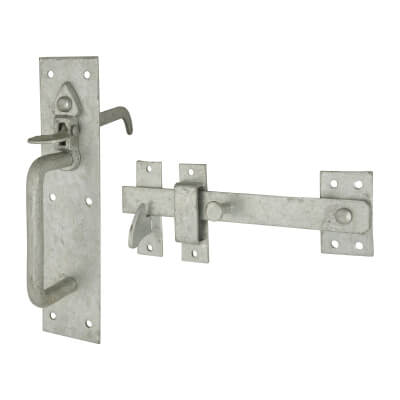 Metal Gate Latch Silver Suffolk Sets Standard Thumb Piece Ga...