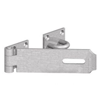 Galvanised Hasp and Staple Heavy Duty Safety Door Gate 115mm