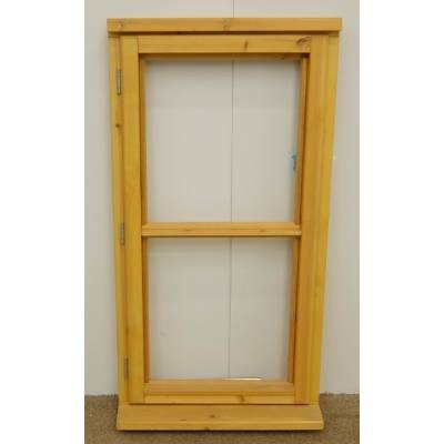 Wooden Timber Window Horizontal Centre Bar Unglazed Jeldwen JW089 625x1195mm CL