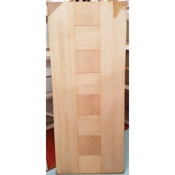 """Engineered Oak Pablo External Panel Door Wooden Timber Paint Grade 78x33"""""""