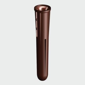 Plastic Plug Brown